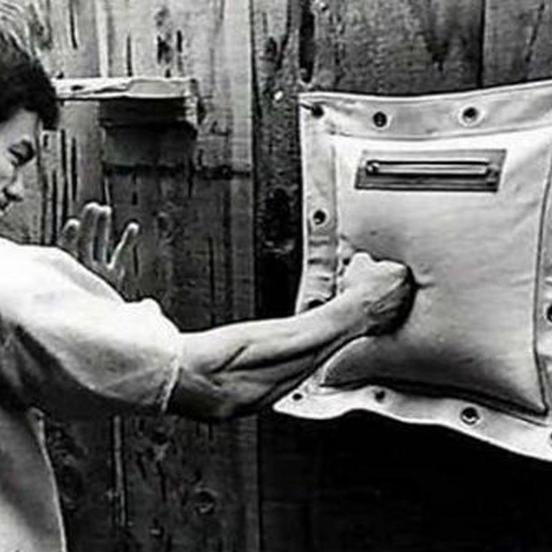 Wing Chun Ip Man 3-Sections Punch Bag Kung Fu boxing Wall Bag//Sand Bag 112 RAS