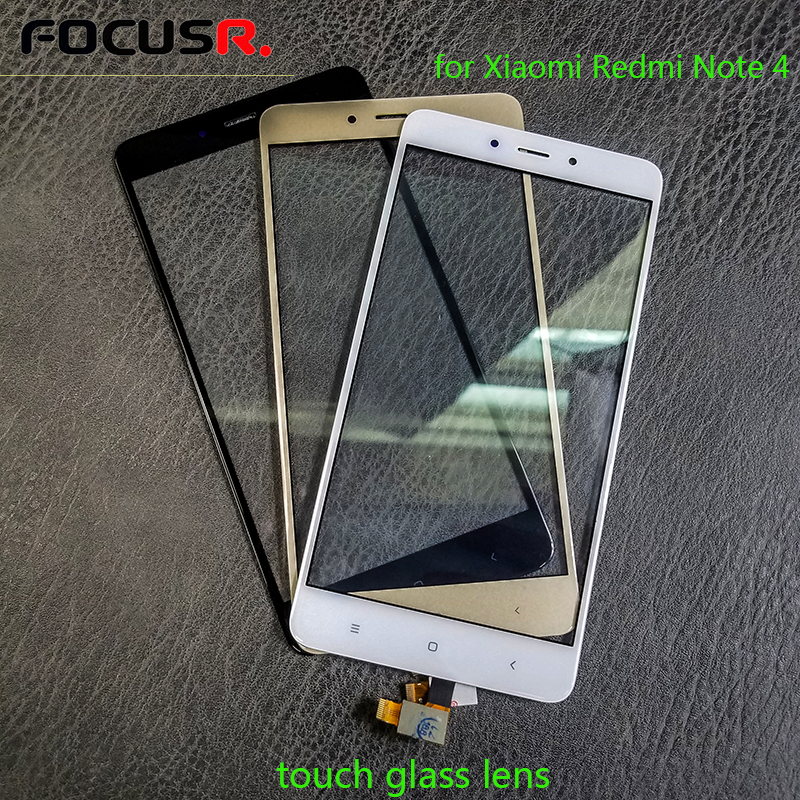 New Outer Touch <font><b>Screen</b></font> Front Glass Lens For Xiaomi <font><b>Redmi</b></font> <font><b>Note</b></font> <font><b>4</b></font> LCD <font><b>Screen</b></font> Touch Panel Replacement Touch <font><b>Screen</b></font> Repair Parts image