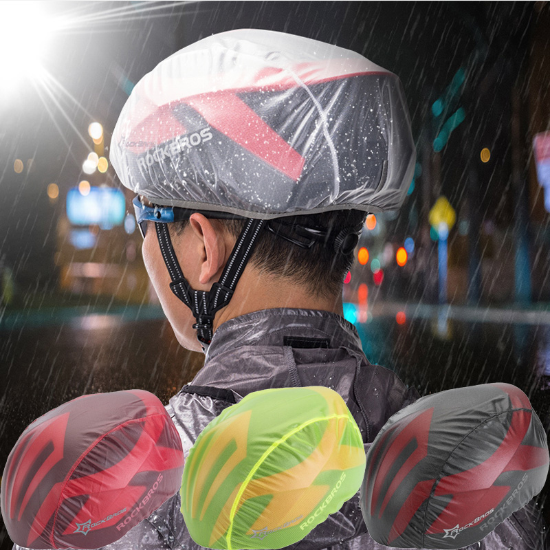 2Pcs Waterproof Bicycle Bike Cycling Helmet Cover Rain Protection Accessories