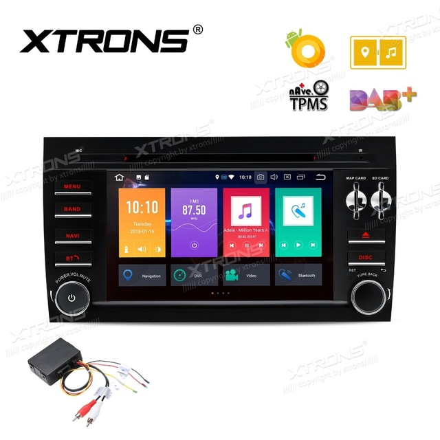 Android 8.0 Oreo OS 7 Car DVD Multimedia GPS Radio for Porsche Cayenne 2003-2010 & Cayenne S 2003-2010 & Cayenne GTS 2003-2010