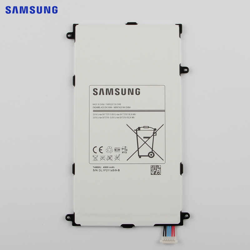 SAMSUNG Original Replacement Battery T4800E For Samsung Galaxy Tab Pro 8.4in T320 T321 SM-T325 SM-T321 Tablet Battery 4800mAh