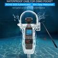 Водонепроницаемый корпус для дайвинга чехол для DJI OSMO Pocket 60m Подводный серфинг защитная сумка ручной карданный стабилизатор для фотоаппара...