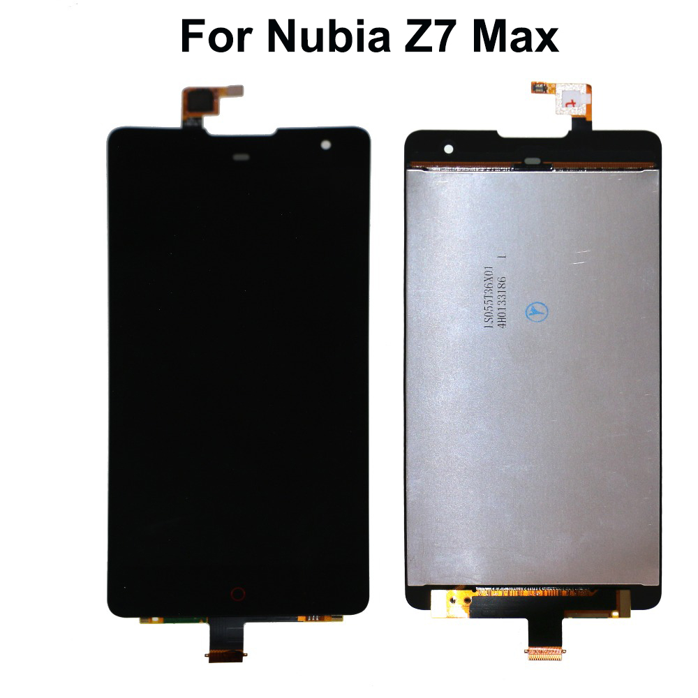 For ZTE Nubia Z7 Max NX505J LCD Display Touch Screen Digitizer For Nubia Z7 Max Screen LCD Display Free Tools