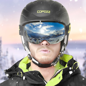 Image 5 - COPOZZ lunettes de Ski magnétiques avec lentille à changement rapide 2s et ensemble de boîtiers UV400 Protection Anti buée Snowboard lunettes de Ski pour hommes femmes