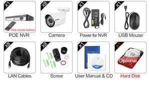 Image 5 - MISECU H.265 8CH 1080P POE نظام الكاميرا الأمنية عدة الصوت سجل كاميرا IP الأشعة تحت الحمراء في الهواء الطلق مقاوم للماء مجموعة NVR المراقبة بالفيديو