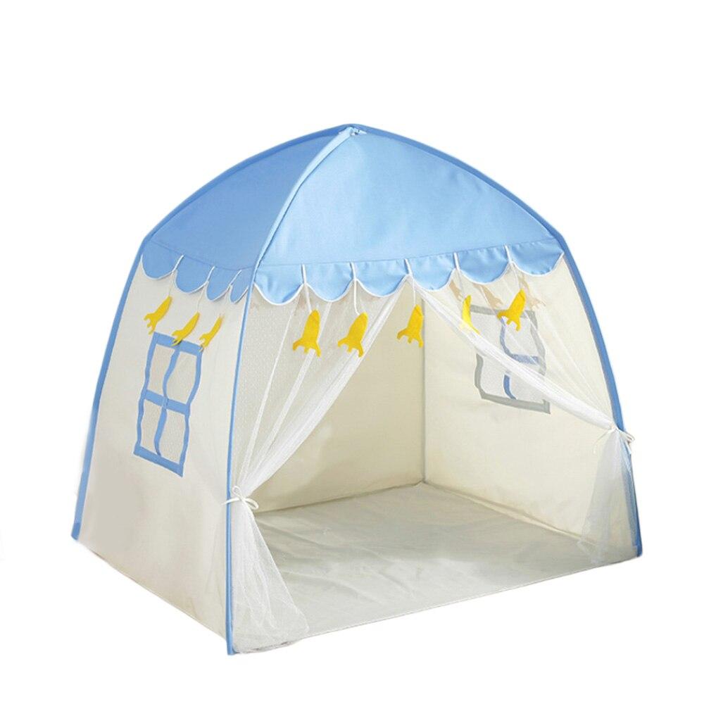 Enfants jouet tente tipi jouer tente enfants Fort toile auvent Portable Playhouse pour jeux d'intérieur en plein air