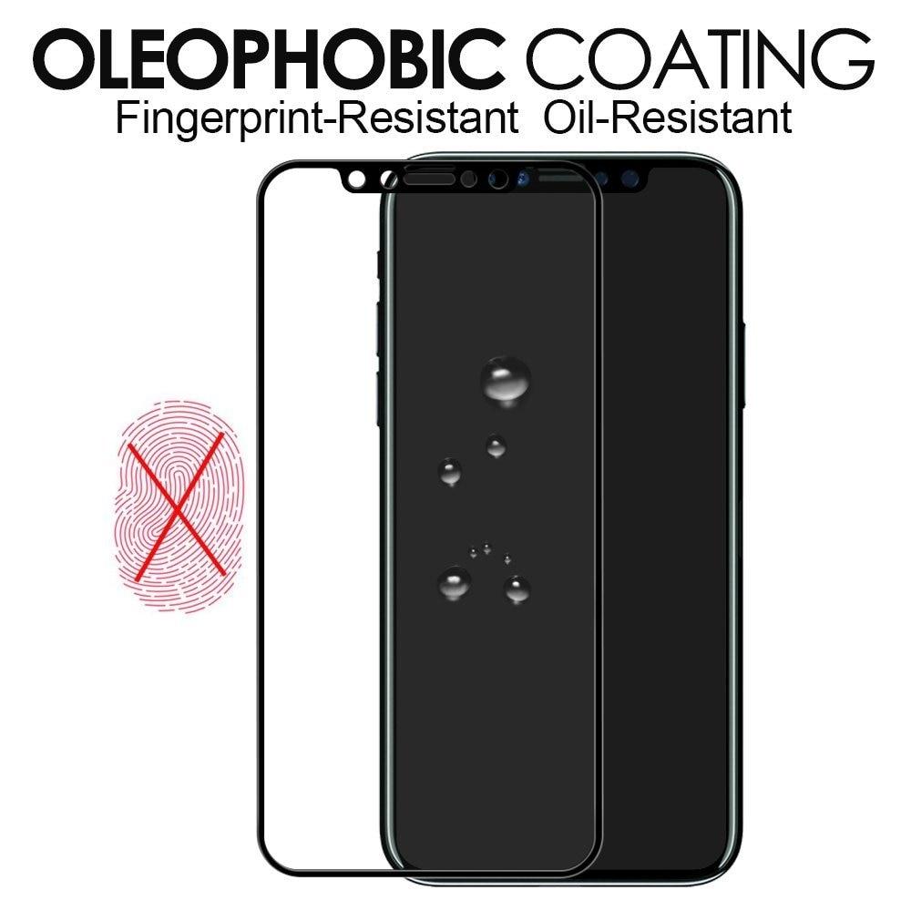 5d permukaan melengkung kaca tempered untuk apple iphone 7 8 x kaca - Aksesori dan suku cadang ponsel - Foto 4