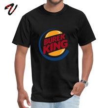 Custom Games Company Sleeve Tops T Shirt Labor Day Round Neck Jaws Men T-shirts Burek King Shirts Latest Wholesale