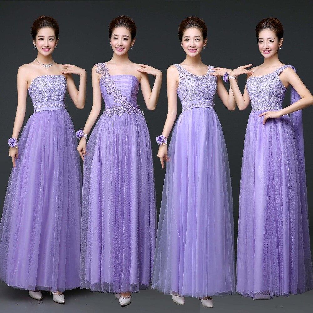 Luxury Pink And Purple Bridesmaid Dresses Crest - Wedding Dress ...