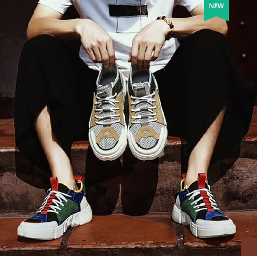 Livre Ar Esportes Lazer Das Legal Jovens Execução Gray Cinza De Dos Os colorful Moda Ao Casuais Para Sapatos Homens Sapatilhas Verão Respirável Corlorful Da Calçados 0ww4HU