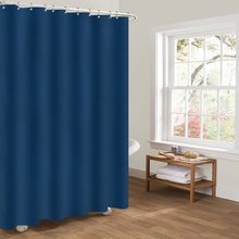 цена на Polyester Waterproof Shower Curtain Decorative Privacy Protection Shower Curtain For Bathroom with 12pcs Hooks Bath Curtains