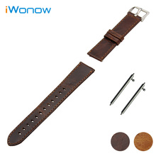 Loopy Horse Real Leather-based Watchband 20mm 22mm 23mm for Tissot Males Ladies Watch Band Fast Launch Strap Wrist Bracelet Brown