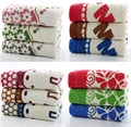 80 g baby towel cotton printed towel about 72 * 32 many design and color is optional 10PCS