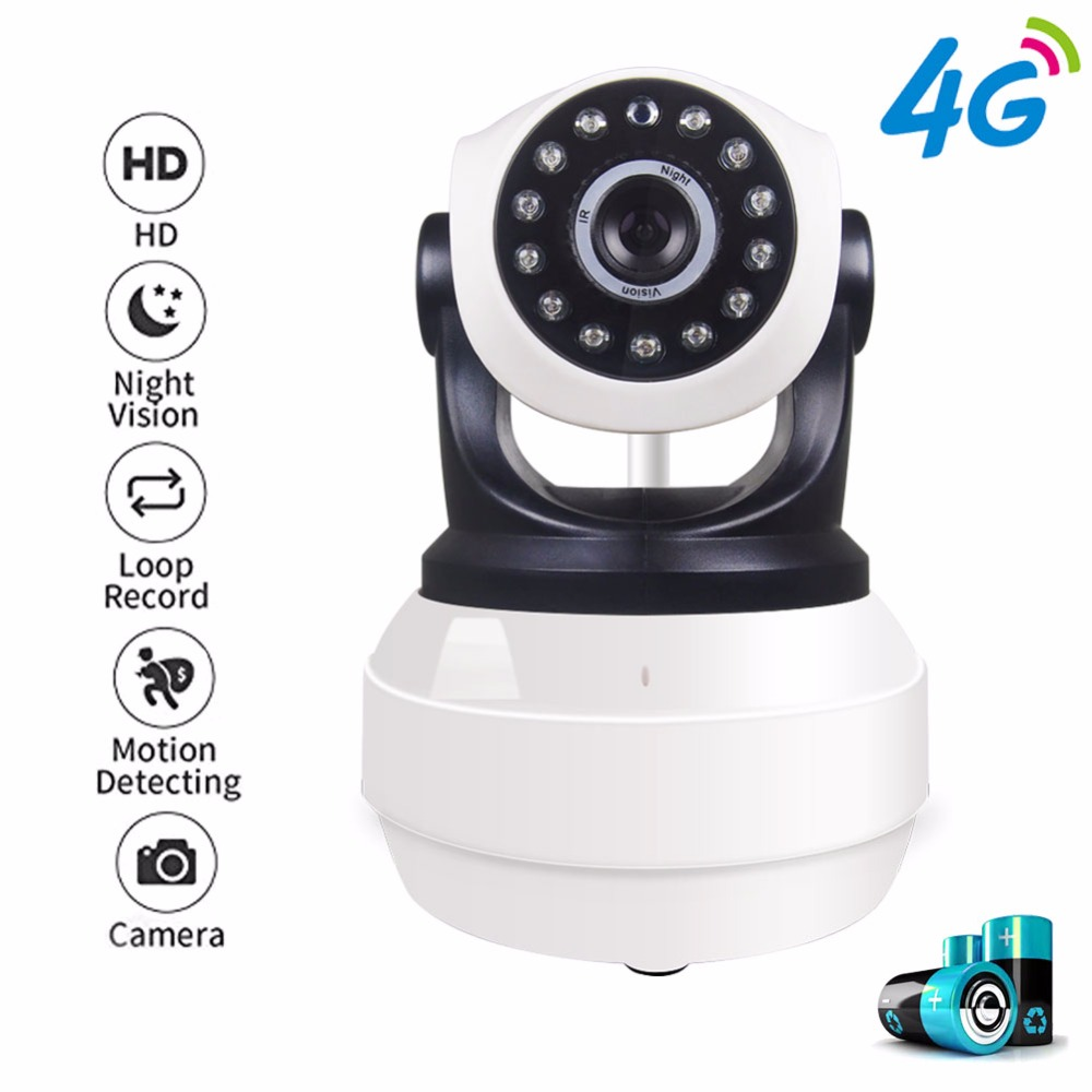 YSA Hi3518E 960P HD Mini Camera Wi-fi 3G 4G SIM Card IP Camera P2P Network Wireless Home Security Two Way Audio IR Night Vision robot camera wifi 960p 1 3mp hd wireless ip camera ptz two way audio p2p indoor night vision wi fi network baby monitor security