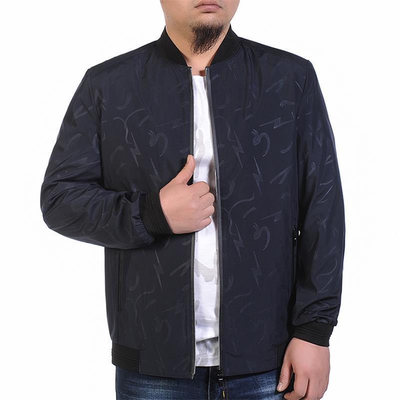 Новый Плюс Размер 9XL 8XL 7XL 6XL 5XL 4XL куртка мужская тренд колледж Slim Fit высококачественные повседневные мужские куртки и пальто - 3
