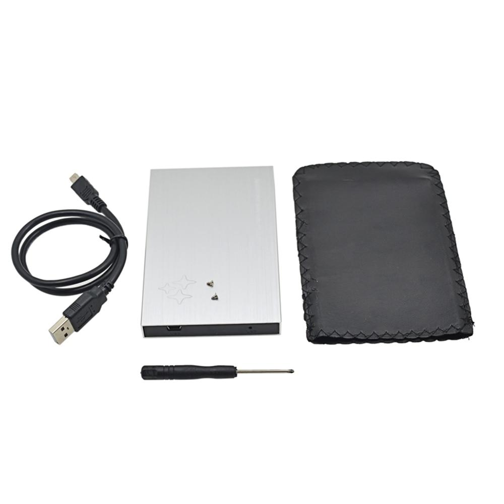 シルバーコンテナ用ハードディスクsataにusb2.0 2.5外付けハードハードディスクドライバアダプタ1テラバイト500ギガバイトssd hddケースエンクロージャボックスoptibay