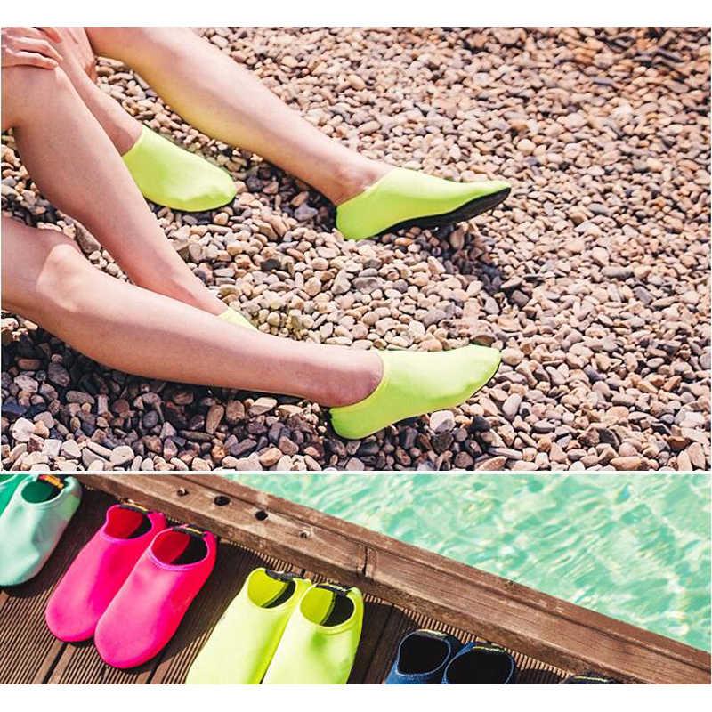 New Beach di Nuoto di Sport di Acqua Calzini e Calzettoni Anti Slip Scarpe di Yoga di Ballo di Forma Fisica di Nuotata Surf Immersione Scarpe per I Bambini Degli Uomini delle donne