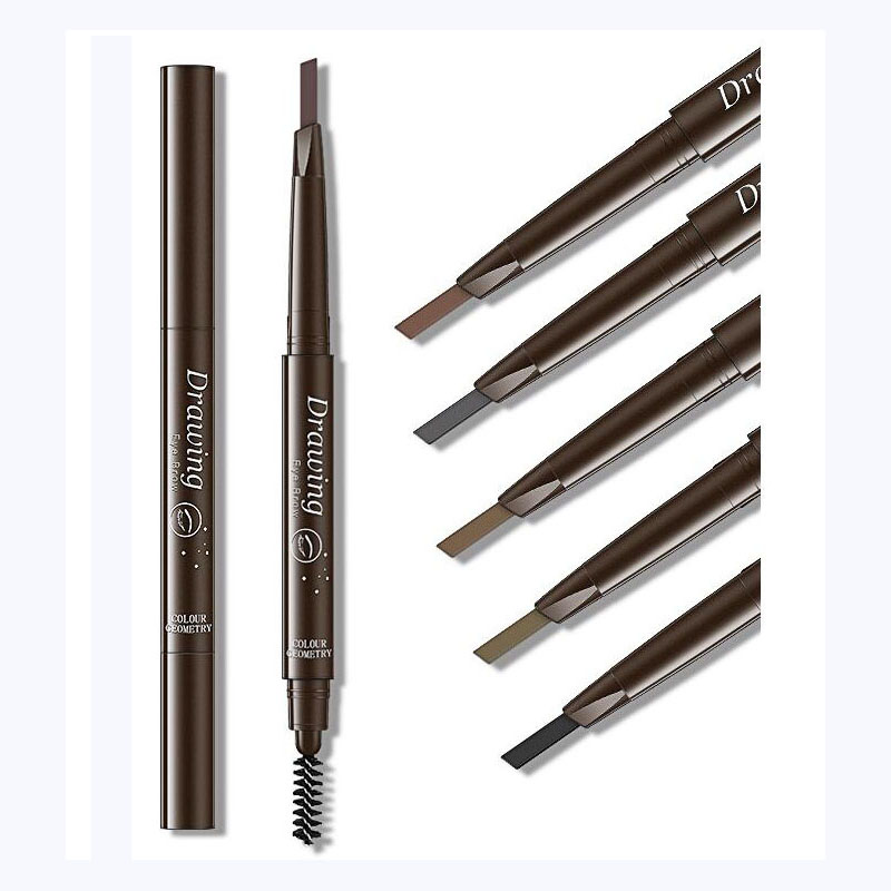Brand New EyeBrow Pencil Cosmetics Makeup Tint Natural Long Lasting Paint Tattoo Eyebrow Waterproof Black Brown Eye Brow Makeup