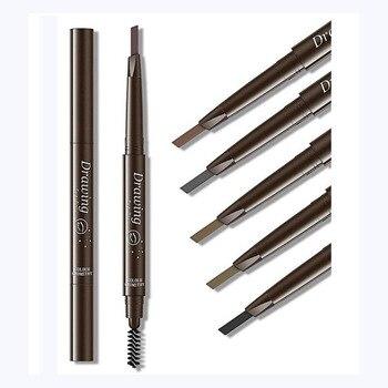 Brand New EyeBrow Pencil Cosmetics Makeup Tint Natural Long Lasting Paint Tattoo Eyebrow Waterproof Black Brown Eye Brow Makeup