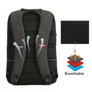 Image 5 - Kingsons laptopa plecak 15.6 Cal wysokiej jakości wodoodporne nylonowe torby biznes Dayback mężczyzn i kobiet