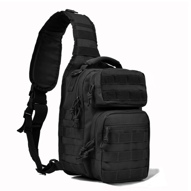 Tactical Sling Bag Pack Military Rover Shoulder Backpack Molle Assault Range Everyday Carry Diaper