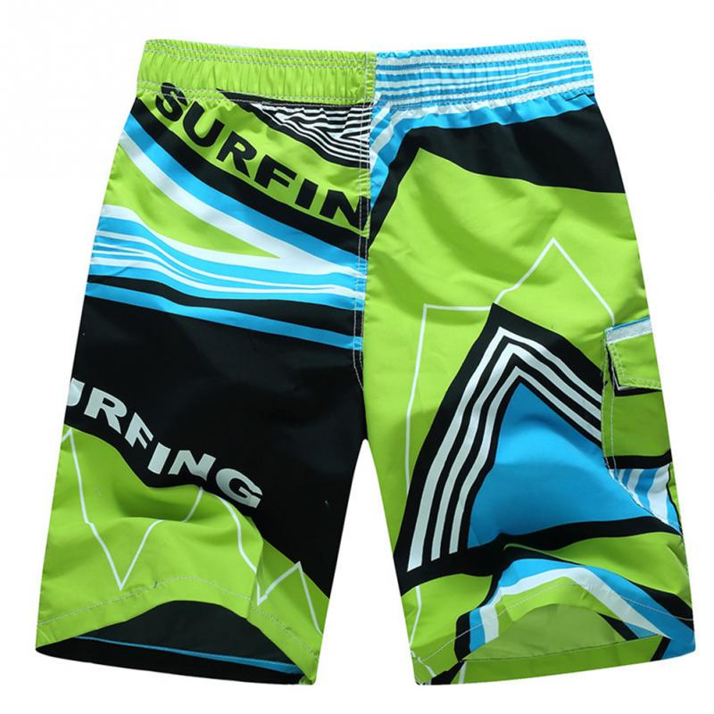 Men Shorts Summer Beach Shorts Swimwear Men Boardshorts Quick Dry Swimsuit Swimming Pants