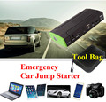Emergency 12V 9900mAh Car Jump Starter Power Bank 400A Peak Car Battery Booster Charger Starting Car Engine SOS Light Free Ship