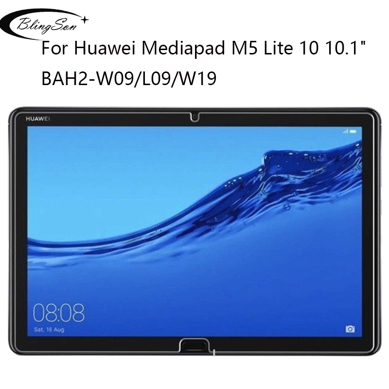 """9H Tempered Glass For Huawei Mediapad M5 Lite 10 10.1"""" BAH2-W09/L09/W19 Screen Protector Tablet Protective Film Guard For M5 10"""