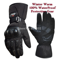 Motorcycle Racing Gloves Winter Outdoor Sports Warm 100 Waterproof Windproof Unisex Fashion Gloves Protective Gear Bicycle
