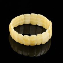JIUDUO Unique super burst 100% Natural amber beeswax multi-treasure hand string bracelet lady genuine noble grade special BT011