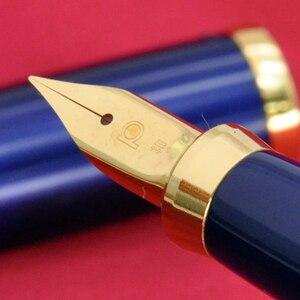 Image 3 - Set von stifte Platin Klassische Serie gold überzogene Brunnen Stift schreibwaren waren Iraurita mit Ink Converter PGB 3000 Stifte büro