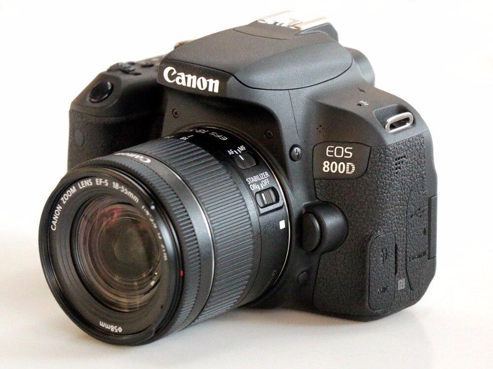 Canon 800D T7i DSLR Cámara cuerpo & EFS 18-55mm es lente STM