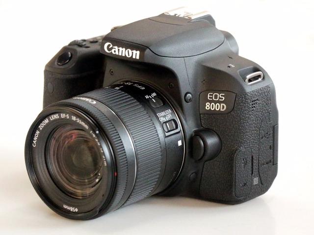 Canon 800D T7i DSLR Camera Body & EFS 18-55mm IS STM Lens
