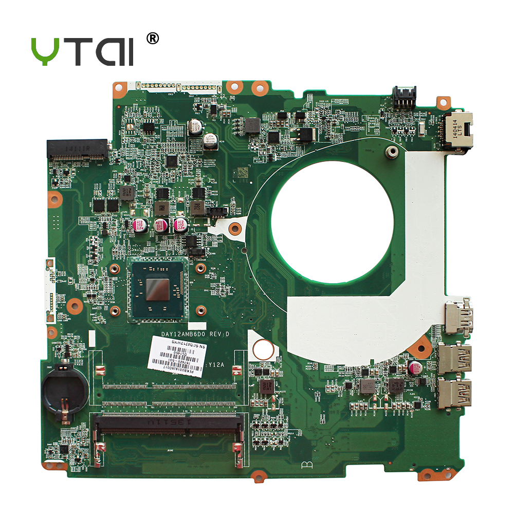 YTAI N2830 CPU for HP Pavilion 17 17-F laptop motherboard N2830 processor SR1W4 DAY12AMB6D0 767420-501 mainboard fully tested free shipping 779457 501 u88 for hp pavilion 15 n 15 f series motherboard with n2830 cpu all functions 100