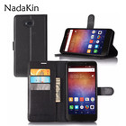 PU Leather Flip Wallet Case For Huawei Ascend XT H1611 6.0 inch High Quality Cover With Stand Function and Card Holder