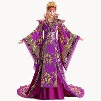 Высокое качество дизайнер китайский древняя династия Тан queen хвостохранилища костюм guzheng Show костюмы для женщин Hanfu китайской фотографии