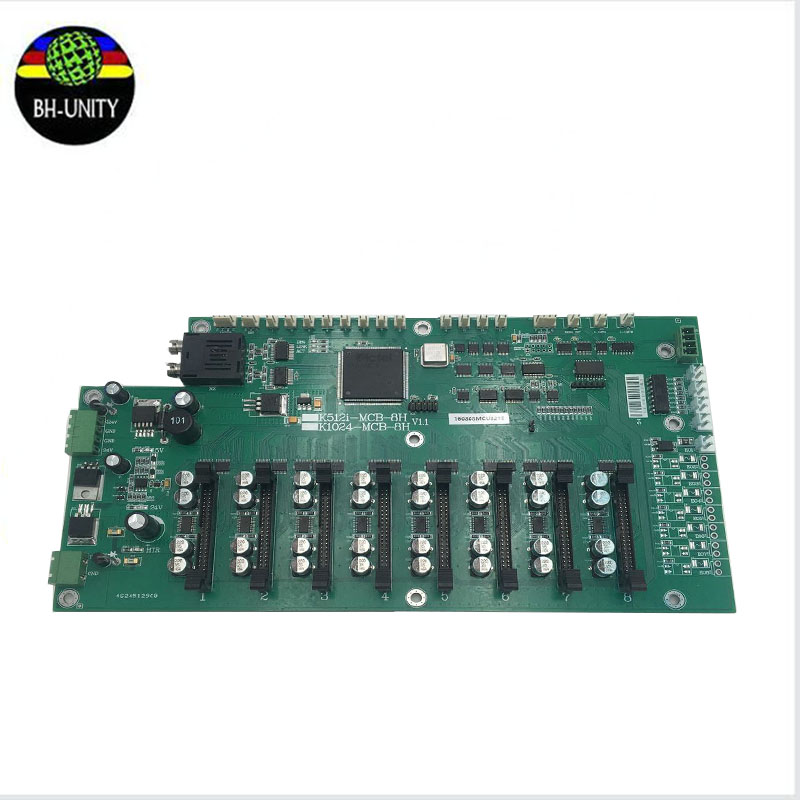 good quality!! km512i headboard for konica 512i printhead carriage board umc board for outdoor printer cheap price konica 512 mother board main board for konica printer spare parts