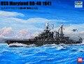 model 05769 Trumpeter Navy Maryland BB-46 battleship