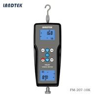 High Precision Portable Pull Push Digital Force Gauge Dynamometer FM-207-10K Tension Meter
