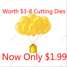 YaMinSanNiO Worth $3-$8 Hot Selling Cutting Dies Diecuts Metal Stencil Embossing Lucky Bag