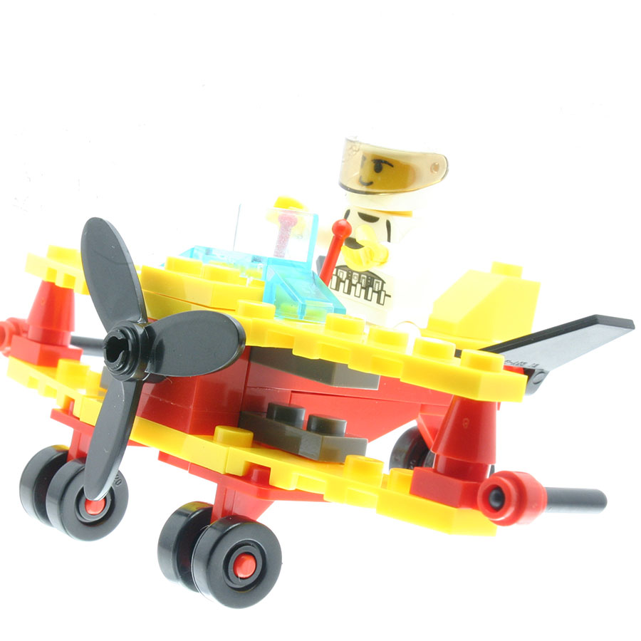 43Pcs/set Biplane Glider Model Figures Educational Toys for Children Model Building Sets Compatible with All Brands DT0085