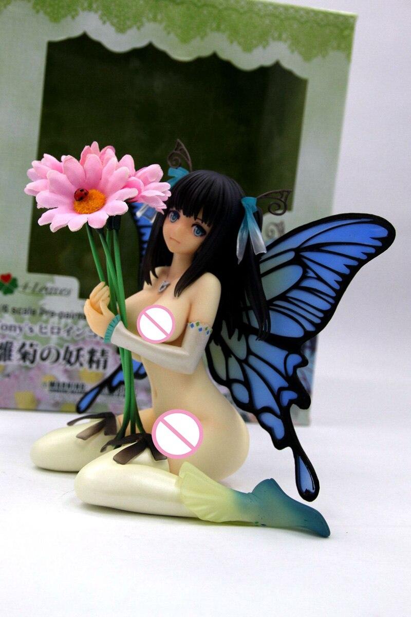 Специальные Kai 18 + версии 4 листья Тони Дейзи Фея Hinagiku бабочка Bishoujo YotsunohaHeroine сексуальная фигура Figrine игрушки