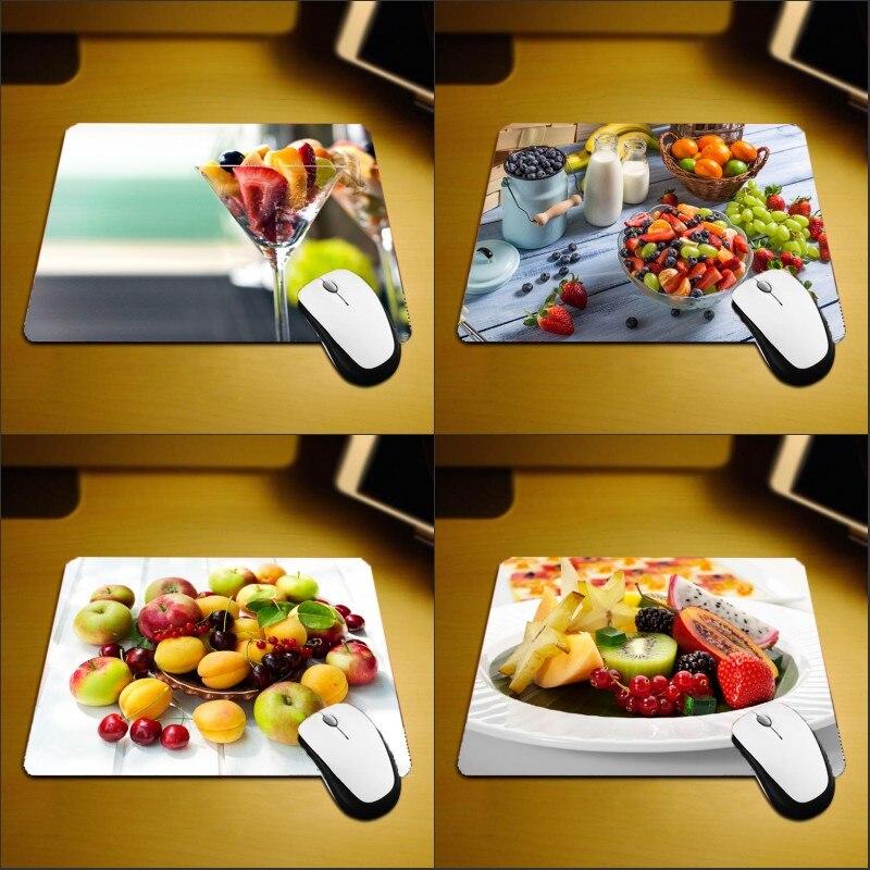 Mairuige Creative Printing Fruit Lifelike Pattern Mousepad Mini Size 250x290x2MM Pad To Mousepad for Restaurant Table Wholesale