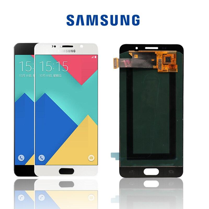Original 5 2 SUPER AMOLED For SAMSUNG Galaxy A5 2016 A510 A510F A510M A510FD LCD Display