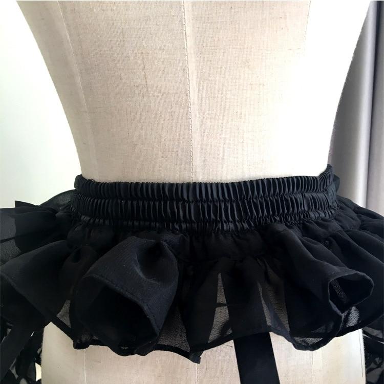 Vrouwen Korte Petticoat Rockabilly Taille Aanpassen 3 Lagen Hoepel - Bruiloft accessoires - Foto 3
