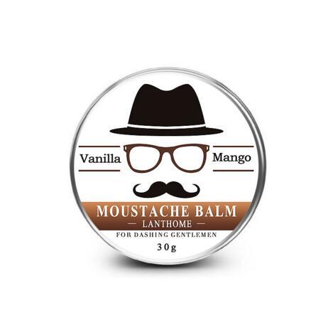 30G Natural Organic Beard Oil Beard Wax balm  Conditioner for Groomed Beard Growth