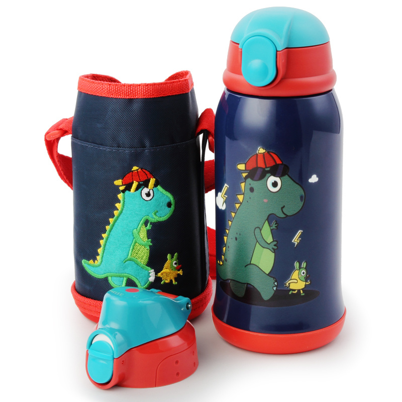 Thermos Cup Children  Water Bottle  Stainless Creative Flask Water Bottle Inox Stainless Thermos Insulated Coffee Cup 3DBWC04