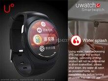 Bluetooth 4,0 smartwatch für apple iPhone 6/6 plus uhr mode-design 1,22 zoll smart uhr ich uhr für Samsung S6 HTC Huawei