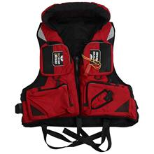 Adult Adjustable Buoyancy Aid Swimming Boating Sailing Fishing Kayak Life Jacket Vest Preservers(China)