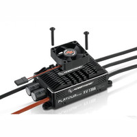 Hobbywing Platinum HV V4 130A BEC / OPTO 5 14S Lipo Empty mold Brushless ESC for RC Drone Helicopter Aircraft